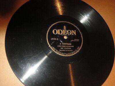 78RPM Odeon 10094 Carl Nebe, O Tannenbaum / Stille Nacht Heilage Nacht clean VV+