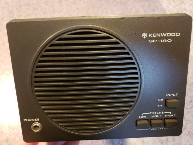 Kenwood SP-180 HF Communications Speaker Audio Filters Onboard