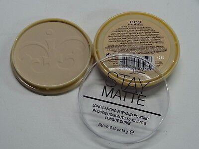 RIMMEL STAY MATTE PRESSED POWDER SHINE CONTROL WITH MINERALS 003 PEACH