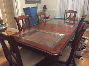 Beautiful Solid wood dining room set