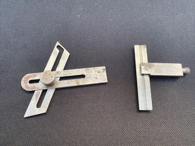 Brown & Sharpe Adjustable Squares #554 & #498