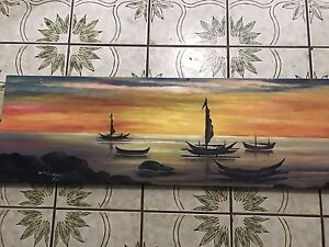 Hand Painted canvas Raceview Ipswich City Preview