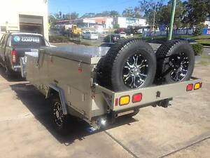 New! Foward Folding Off Road Rear Slide Broadwater Camper Trailer Biggera Waters Gold Coast City Preview