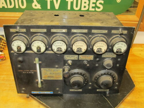 Exciter OA-1-A From 1929 RCA 50-B 50 KW Transmitter Serial # 2, WTAM to NBC