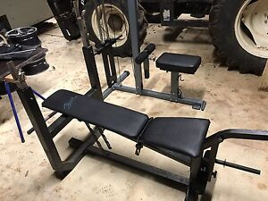 Bench press incline and leg extension One Tree Hill Playford Area Preview