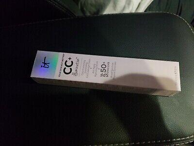 IT Cosmetics CC Cream Medium Your Skin but better Illumination SPF 50