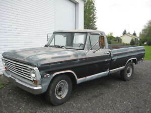 2 Ford pickup 1969