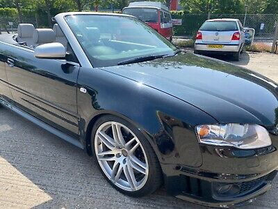 AUDI RS4 CONVERTIBLE 4.2 2007 HPI CLEAR LOW MILES 88K FULL SERVICE HISTORY