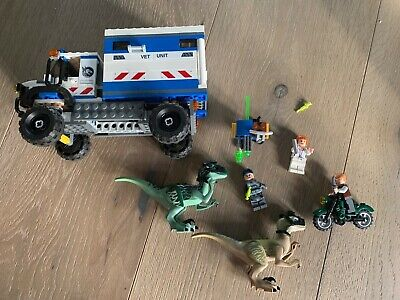 LEGO Jurassic World Raptor Rampage (75917) All pieces Used but in good condition