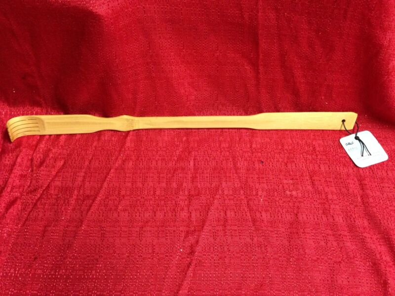 BAMBOO BACK SCRATCHER 20 INCHES FAST FREE SHIPPING BRAND NEW Long Reach Relief