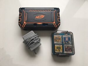 Nintendo 3DS XL Blue with 16 games, nerf case and charger