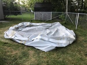 16' Coleman pool shell only