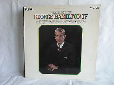 """THE BEST OF GEORGE HAMILTON 1V 12"""" VINYL ALBUM. RCA. 1970"""
