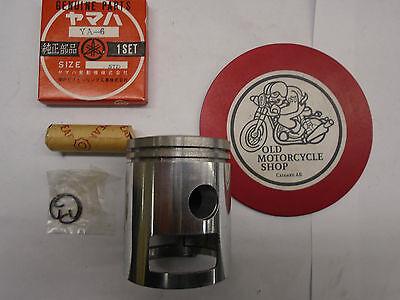 <em>YAMAHA</em> YA6 STANDARD SIZE PISTON KIT W RINGS AND WRIST PIN   S81412