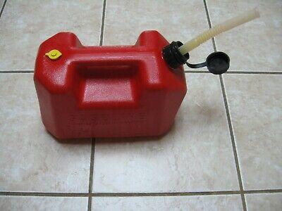 Pre Ban Blitz 2 Gallon 8 Oz. Gas Can Vented Fast Pour Retractable Spoutcap
