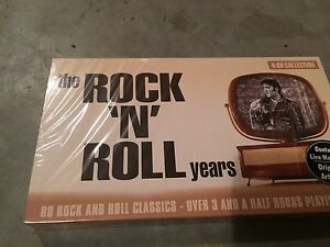 Elvis rock N roll years 4 disk collection