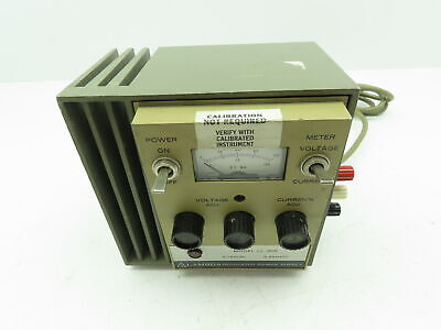 Lambda Ll-905 Regulated Adjustable Power Supply 0-120 Vdc 0-65 Madc 105-132 Vac