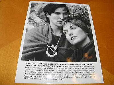 1994 Lifetime TV Movie Guinevere 8 x 10 B&W Photo Sheryl Lee & Noah Wylie NM