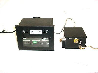 Msa Oxygen Analyzer 4000 In-line Wflow Controldistribution Unit 120v50-60hz