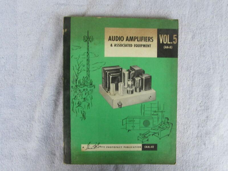 Audio Amplifiers & Associated Equipment-A 1956 Photofact Publication   Box - E
