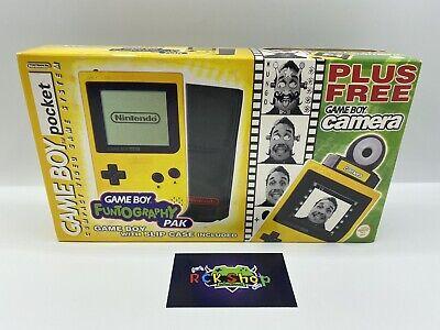 Nintendo - Gameboy Pocket - Funtography Pak - Gelb - NEU&versiegelt -...
