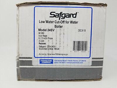 Safgard 24sv Low Water Cut Off 24-volt Gas Hot Water Lwco Short Probe