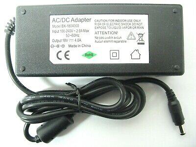 3.9 AMP/3900MA 18 VOLT AC/DC REGULATED DESKTOP POWER -