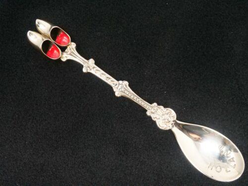 """Holland Shoes Souvenir Spoon 4 1/2"""" Long"""