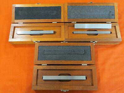 4 Vtg Brown Sharpe Parallel Bars 920 12x1 12x58 34x38 Machinist Tools
