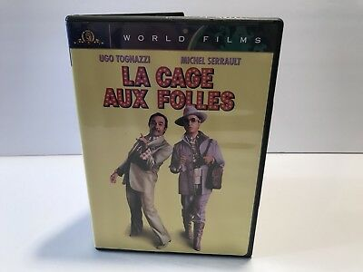 La Cage Aux Folles DVD Ugo Tognazzi World Films MGM Birds Of A Feather 2001