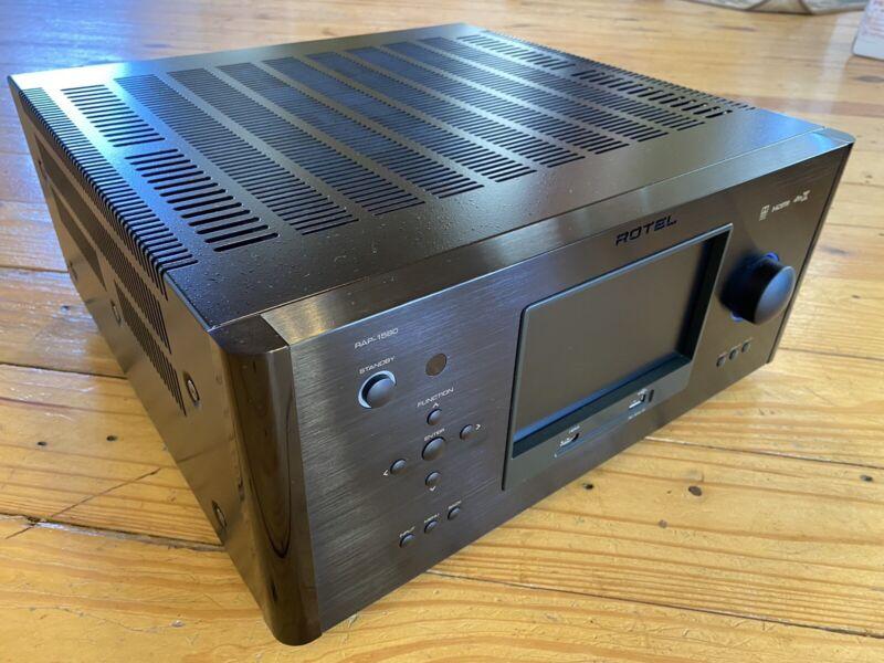 Rotel RAP-1580 Surround Sound Receiver (Amplified Processor) (Black)