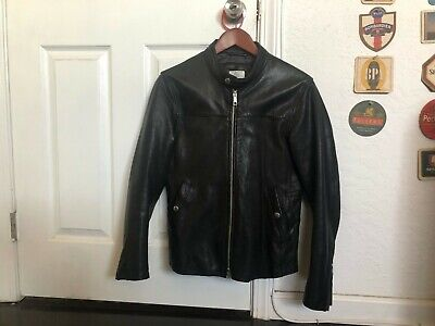 United Arrows x Beauty & Youth Black Cafe Racer Small Jacket - Japanese