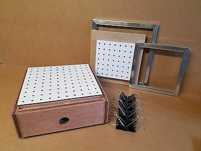 Vacuum Formerforming 2 In 1 12 X 12 And 9 X 9 Formingmachine Box.
