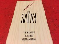 Red Satay Dieppe Part Time Server