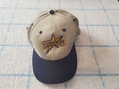 Luna Pier Cap - Vintage Dayton Bombers Luna Pier Strapback Cap Hat 90's Deadstock ECHL