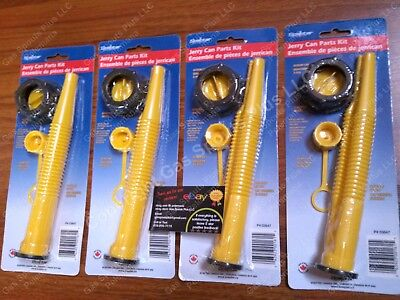 4-pk Scepter Gas Can Spouts Vent Kit Moeller Midwest American Igloo Eagle Reda