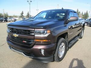 2016 Chevrolet Silverado 1500 Double Cab 2LT Z71 4x4- Leather