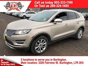 2015 Lincoln MKC Automatic, Navigation, Leather, AWD, 49, 000KM