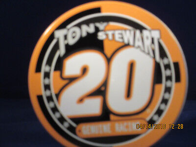 - TONY STEWART # 20 Metal Coasters in Tin Case - Set of 5  - New In Box