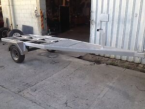 aluminium boat trailer to suit up too 4m Mooroobool Cairns City Preview