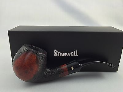 Stanwell Vario 84 Pfeife pipe pipa 9mm Filter sandgestrahlt / poliert