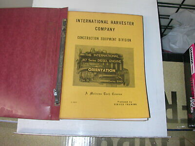 INTERNATIONAL HARVESTER MELROSE TECH COURSE PACKAGE OF 15 BOOKS
