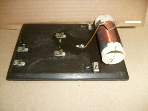 Vintage One Glass Diode   Radio Project - from crystal radio builder