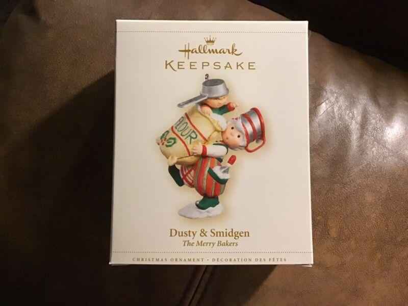 Hallmark 2006 DUSTY & SMIDGEN The Merry Bakers Mint in Mint Box