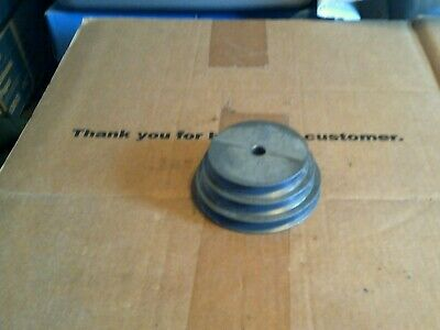 1 Of Chicago Part 148 Three Step Aluminum Pulley 12 Id X 3 12 X 4 X 4 12