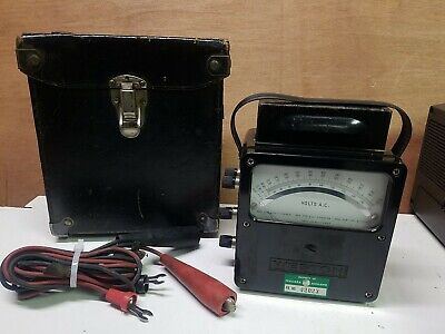 Weston Electrical Instruments Model 433 0 - 600 Ac Volt Meter
