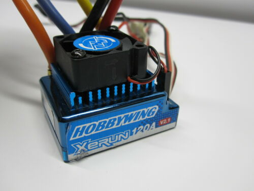 Hobbywing XERUN 120A V2.1 Brushless ESC speed control for Team Associated Losi