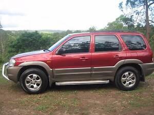 2003 Mazda Tribute Wagon RUNS ON LPG NEGOTIABLE Mooloolah Valley Caloundra Area Preview