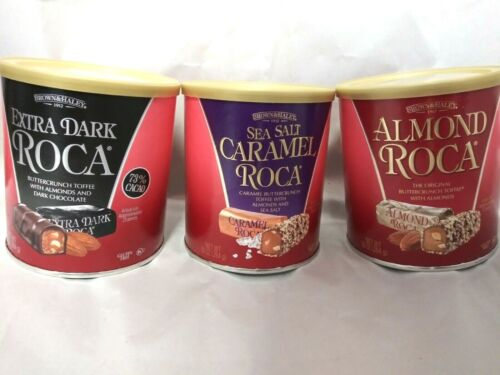 ROCA Brown and Haley (3 pack assortment). 10 oz/each. BBD 11/2021+.