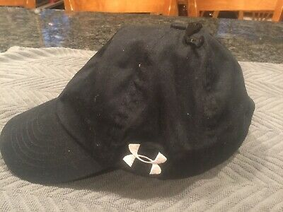 Womens Under Armour Cap Adjustable Free Fit Black & White Under Armour Hat New